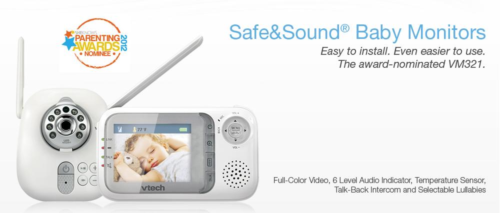 review vtech safe sound baby monitor vtech cordless phones. Black Bedroom Furniture Sets. Home Design Ideas