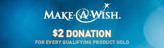 Make A Wish - $2 Donation with each order