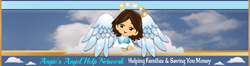 Angie�s Angel Logo