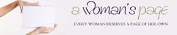 A Woman�s Page Logo