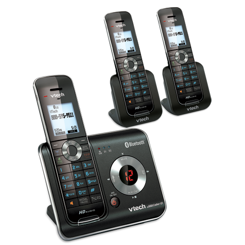 6 Handset Connect To Cell™ Answering System With Caller ID